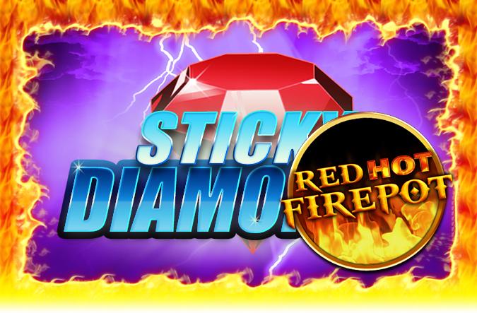 Game Sticky Diamonds Red Hot Firepot