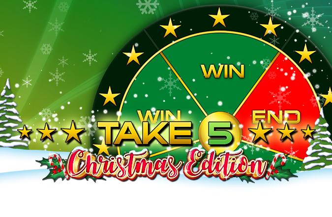 Game Take 5 Christmas Edition