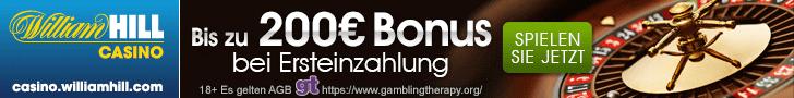 Willam Hill Casino Bonus