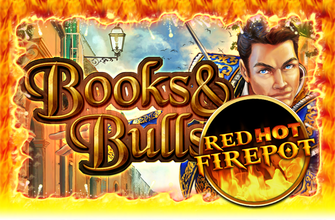 Game Books & Bools Red Hot Firepot