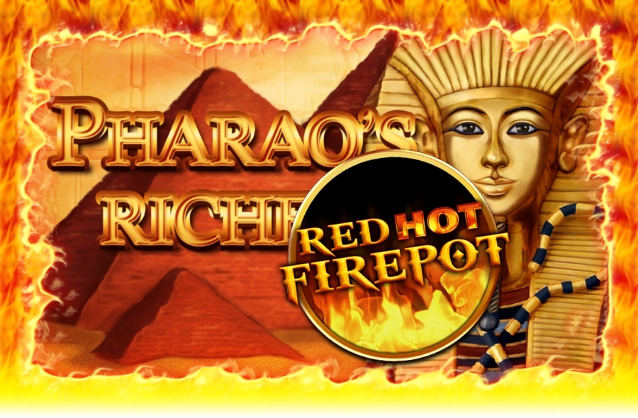 Game Pharaos Riches Red Hot Firepot