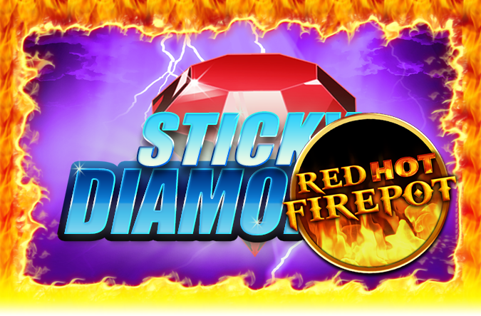 Game Sticky Diamonds Red Hot Firepot